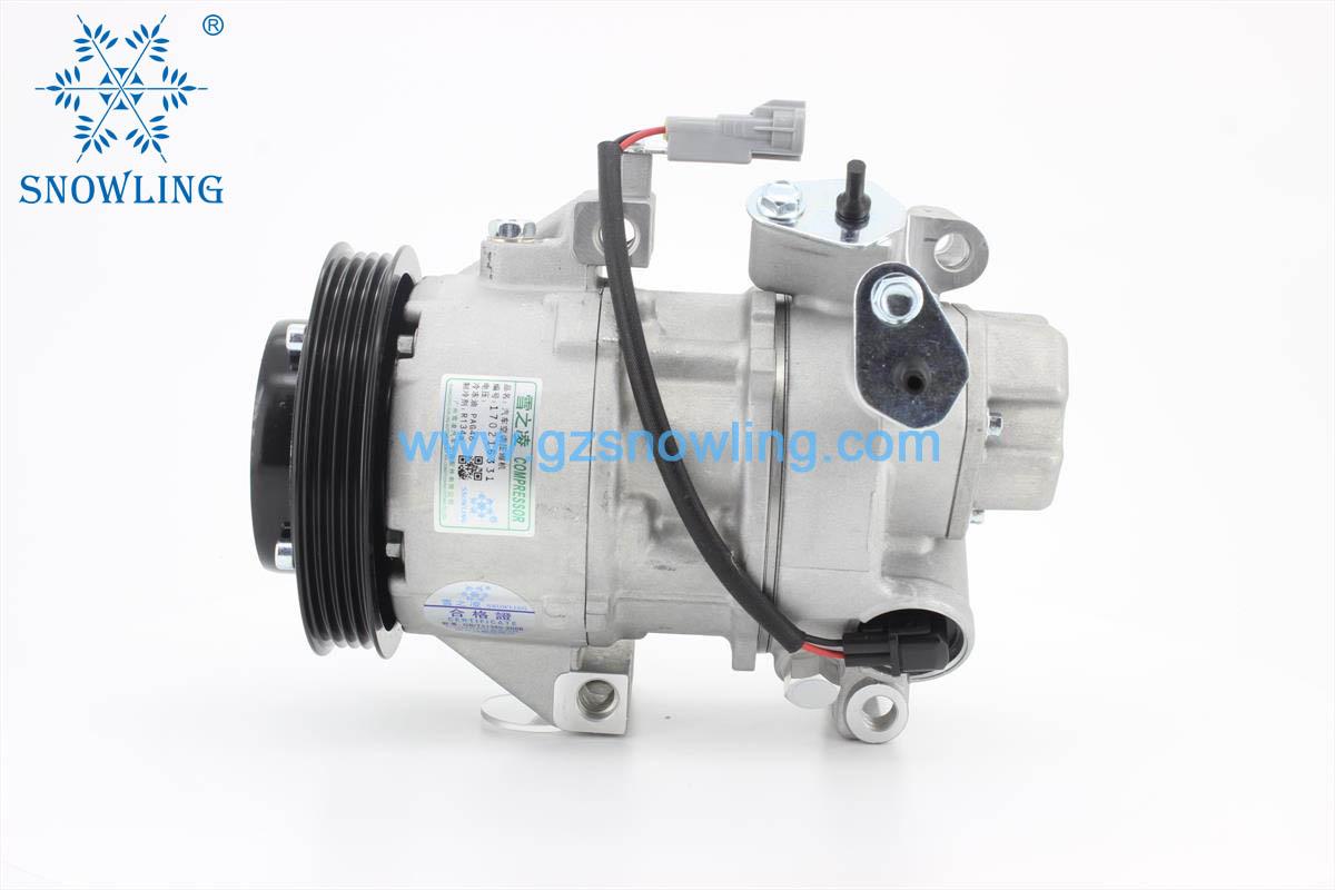 THJ-10007 5SER09C ELECTRONIC CONTROL VALVE 4-PK AC COMPRESSORFOR-Toyota-Auris-1NZ-FE-01.06 -