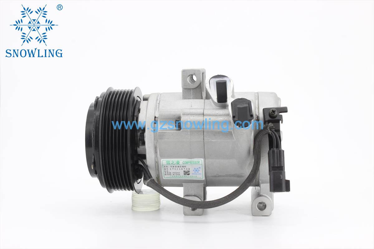FHJ-10-0043 HS13N 12 7-PK AC COMPRESSORFOR-Mazda-BT-50-----01.11 -